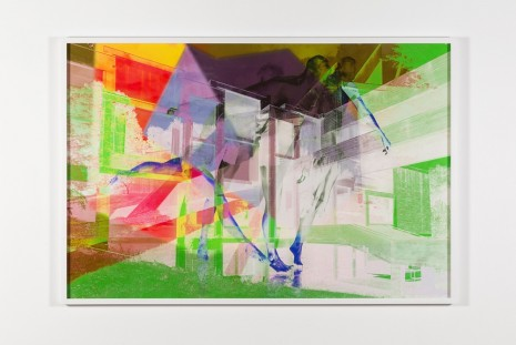 James Welling, 7690, 2015, Marian Goodman Gallery