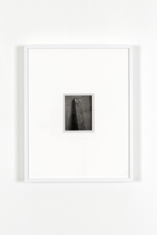 James Welling, Lock, 1976/printed in 2000, Marian Goodman Gallery