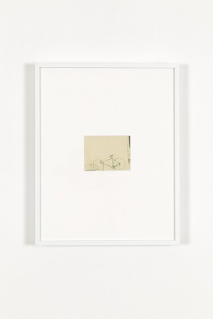 James Welling, White Bike, 1976/printed in 2000, Marian Goodman Gallery