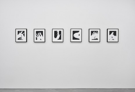 James Welling, Hands, 1974/2016, Marian Goodman Gallery