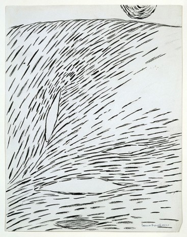 Louise Bourgeois, Untitled, 1950, Hauser & Wirth