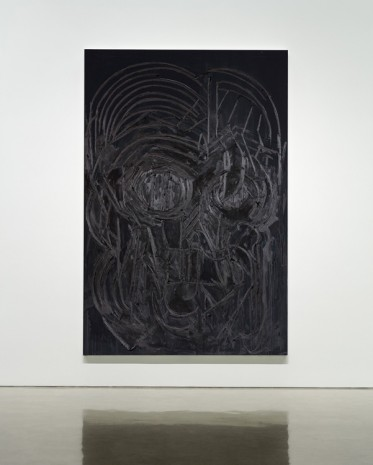 Thomas Houseago, Black Painting 3, 2016 , Gagosian