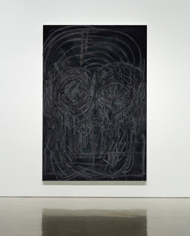 Thomas Houseago, Black Painting 8, 2016 , Gagosian