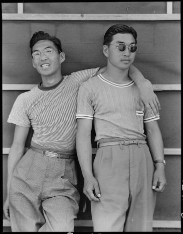 Dorothea Lange, Sacramento, California. College students of Japanese ancestry who have been evacuated from Sacramento to the Assembly Center., 1942, Marianne Boesky Gallery