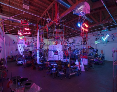 Jason Rhoades, The Black Pussy... and the Pagan Idol Workshop, 2005, Hauser & Wirth