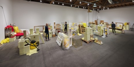 Jason Rhoades Hauser & Wirth Swedish Erotica and Fiero Parts