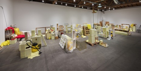 Jason Rhoades, Swedish Erotica and Fiero Parts , 1994, Hauser & Wirth