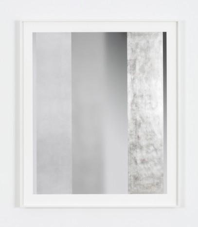 Bing Wright, Silver/Surface 3 Planes of Silver 001, 2016 , Paula Cooper Gallery