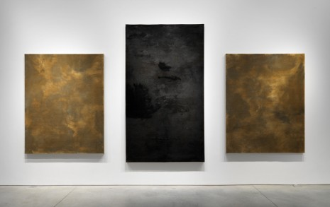 Pier Paolo Calzolari, Untitled (Three felts), 2008-2014, Marianne Boesky Gallery