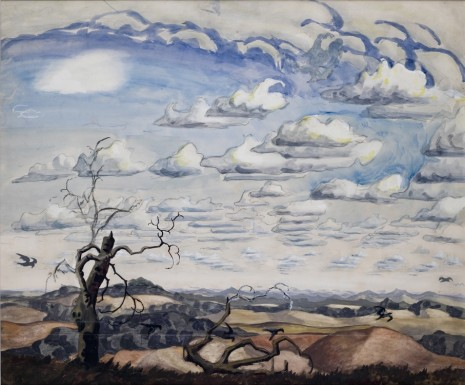 Charles Burchfield, Summer, 1926, Metro Pictures