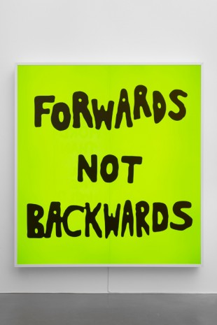 Sam Durant, Forwards Not Backwards, 2017, Sadie Coles HQ