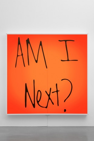 Sam Durant, Am I Next?, 2017, Sadie Coles HQ