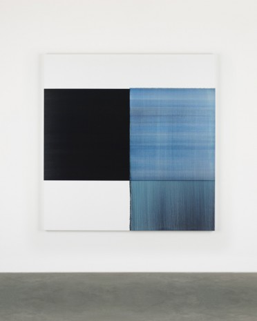Callum Innes, Exposed Painting Oriental Blue, 2017 , Sean Kelly