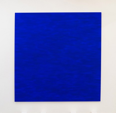 Callum Innes, Ultramarine blue, 2017, Sean Kelly