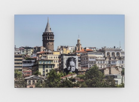 JR, The Wrinkles of the city, Istanbul, Ismet Erkoc #807, Turkey, 2015, Perrotin