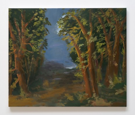 Karen Kilimnik, the edge of the forest, evening, 2012, Galerie Eva Presenhuber