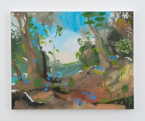 Karen Kilimnik, the jungle planet in winter, 2016 , Galerie Eva Presenhuber
