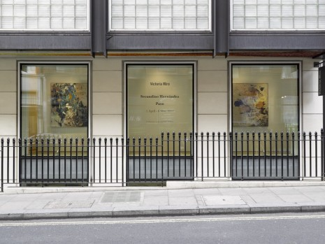 Secundino Hernández Victoria Miro Gallery Victoria Miro Mayfair, 14 St George Street, London W1S 1FE