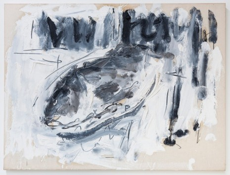 Christian Lindow, Untitled (Fish), 1984, Mai 36 Galerie
