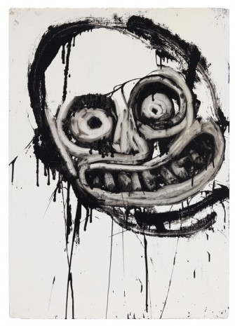 Joyce Pensato, Untitled (Bart Simpson), 1994, Petzel Gallery