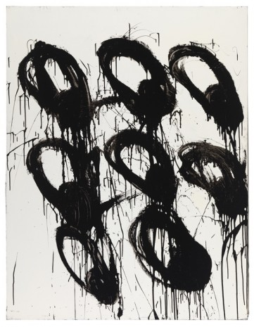 Joyce Pensato, L'Area Donald eyes!, 2000, Petzel Gallery