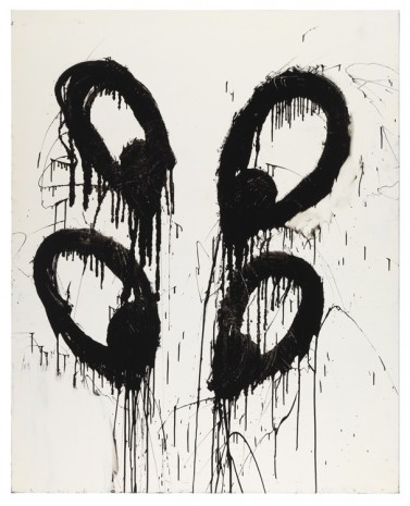 Joyce Pensato, Cross Eyes, 2000, Petzel Gallery