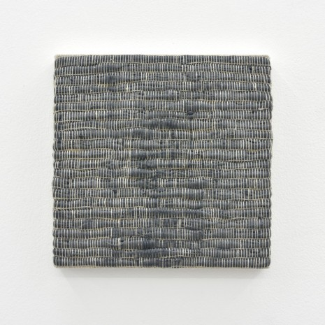 Analia Saban, Composition for Woven Solid (Gray), 2017, Praz-Delavallade