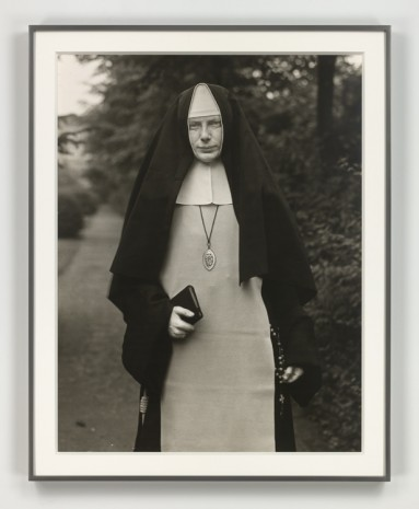 August Sander, Nonne (Nun), 1921 (printed 1972), Hauser & Wirth