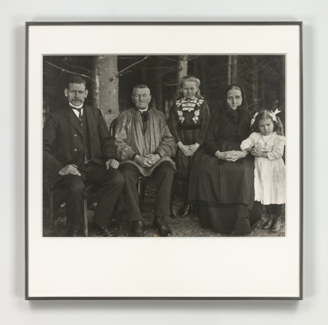 August Sander, Die Familie in der Generation (Three Generations of the Family), 1912 (printed 1972), Hauser & Wirth