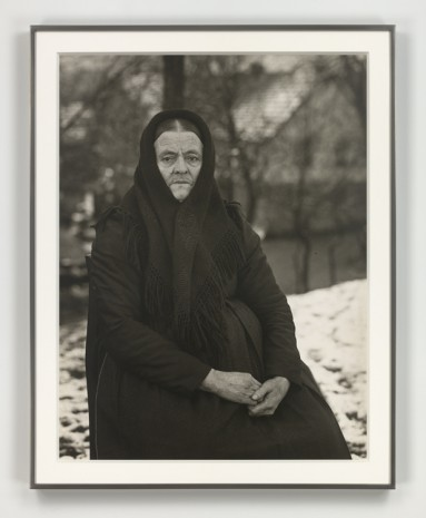 August Sander, Die Stümerin oder Revolutionärin (The Fighter or Revolutionary), 1912 (printed 1972), Hauser & Wirth