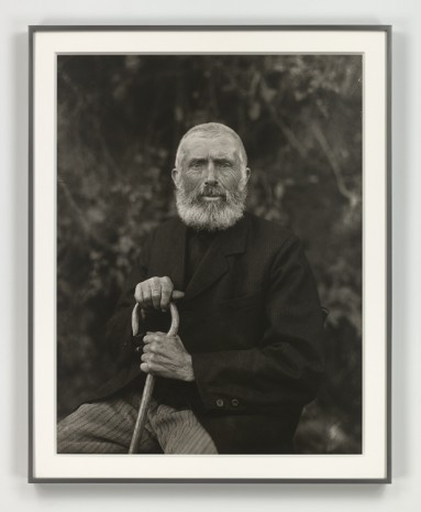 August Sander, r erdgebundene Mensch (The Man of the Soil), 1910 (printed in 1972), Hauser & Wirth