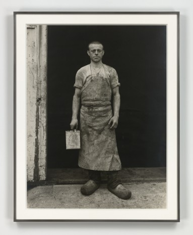 August Sander, Lackarbeiter (Varnisher), ca. 1930 (printed 1972), Hauser & Wirth