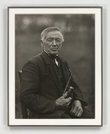 August Sander, Der Philosoph (The Philosopher), 1913 (printed 1972), Hauser & Wirth
