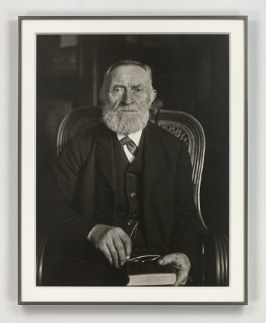 August Sander, Der Stürmer oder Revolutionär (The Fighter or Revolutionary), 1925 (printed 1972), Hauser & Wirth