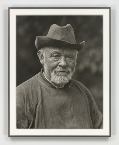 August Sander, Der Weise (The Sage), 1913 (printed 1972), Hauser & Wirth