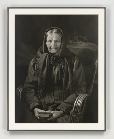 August Sander, Der erdgebundene Mensch (The Woman of the Soil), 1912 (printed 1972), Hauser & Wirth