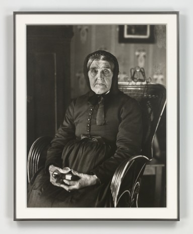 August Sander, Die Weise (The Sage), 1913 (printed 1972), Hauser & Wirth