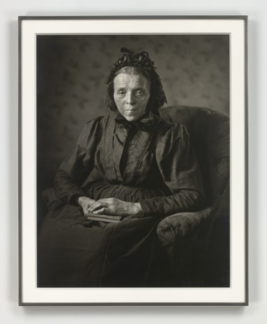 August Sander, Die Frau im fortgeschrittenen Intellekt (Intellektuelle) [The Woman of Progressive Intellect (Intellectual)], 1914 (printed 1972), Hauser & Wirth