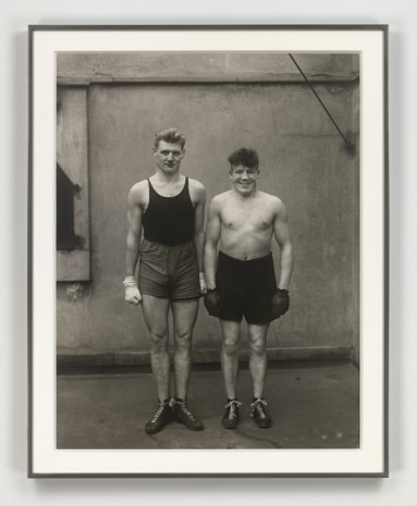 August Sander, Boxer (Boxers), 1929 (printed 1972), Hauser & Wirth