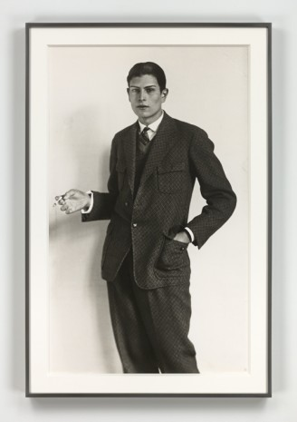 August Sander, Gymnasiast (High School Student), 1926 (printed 1972), Hauser & Wirth