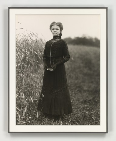 August Sander, Konfirmandin (Confirmation Candidate), 1911 (printed 1972), Hauser & Wirth