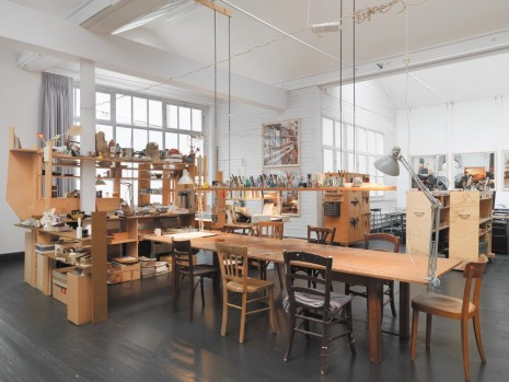 Dieter Roth / Björn Roth, The Studio of Dieter and Björn Roth, Ackermannshof, Basel, 1995 – 2008, Hauser & Wirth