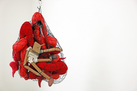 Annette Messager, Pinocchio dans ses entrailles (Pinocchio in His Own Entrails), 2008, Marian Goodman Gallery