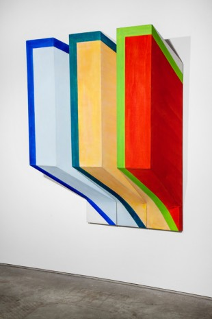 Richard Smith, Untitled (triptych), 1965, Galerie Gisela Capitain