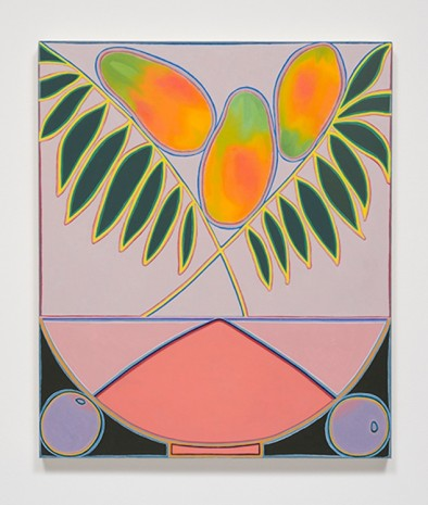 Holly Coulis, Papayas and Plant, 6am, 2017, Cherry and Martin