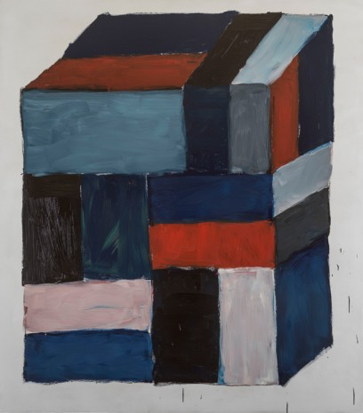 Sean Scully, BLOCK RED, 2016, Cheim & Read