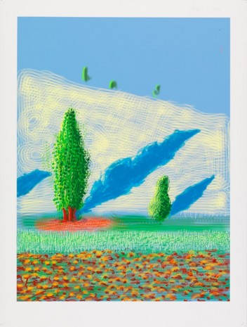 David Hockney, The Yosemite Suite No.10, 2010 , Galerie Lelong & Co.