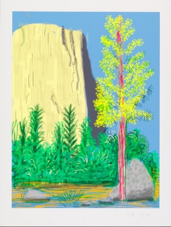 David Hockney, The Yosemite Suite No.22, 2010 , Galerie Lelong & Co.