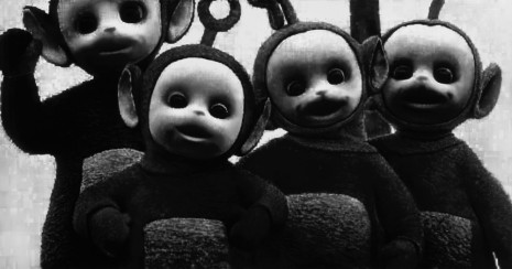 Robert Longo, Untitled (Teletubbies), 2016, Metro Pictures