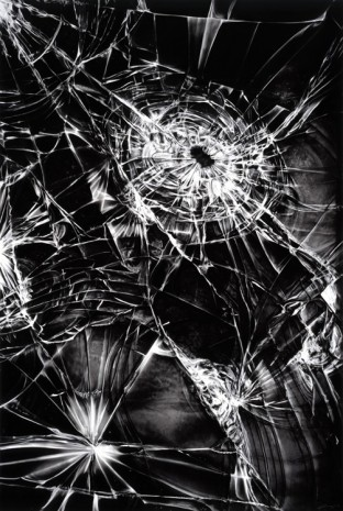 Robert Longo, Untitled (Shattered iPhone Screen), 2016, Metro Pictures
